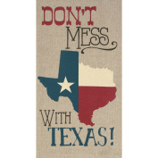 RITZ Don't Mess with Texas Chambray Tea Towel