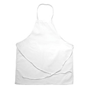 CHEF REVIVAL 90cm x 70cm Institutional Apron, White, One Size Fits All 601NP-WH