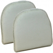 Gripper Non-Slip 38cm x 41cm Avatar Chair Cushions, Set of 2