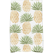 Simply Daisy 41cm x 60cm Tossed Pineapple Geometric Print Kitchen Towels