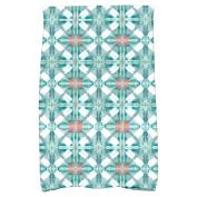 Simply Daisy 41cm x 60cm Beach Tile Geometric Print Kitchen Towel