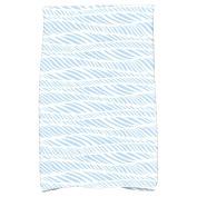 Simply Daisy 41cm x 60cm Rolling Waves Geometric Print Kitchen Towel