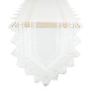 Nordic Lace Tablerunner - Off-White - 36cm X 180cm