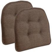 Gripper Non-Slip 38cm x 41cm Thatcher Tufted Chair Cushions, Set of 2