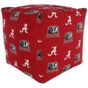 College Covers Fan Shop Alabama Crimson Tide Cube Cushion - 46cm x 46cm