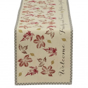 Design Imports 180cm Gather Together Printed Table Runner