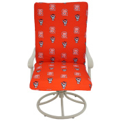 College Covers Fan Shop North Carolina State Wolf pack 2pc Chair Cushion - 50cm x 120cm