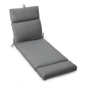 Coral Coast Nautical French Edge 180cm . Outdoor Chaise Lounge Cushion