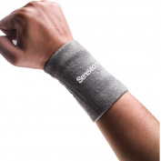 Senston Sports Wristband Sweatband - Provide Firm Support for Weak Wrist, Wrist Sprains and Strains - for Basketball Badminton Tennis Fitness All Sports - 2 Colours