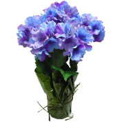 Easter Decor Potted Blue Hydrangea