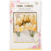 Prima Marketing Flower Bundles-Yellow