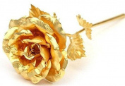 Lightahead® 24k Gold Rose Foil Flowers 20cm Handcrafted with Gift Box