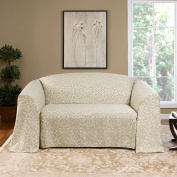 Renaissance home fashion natalie woven couch cover
