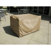 """Formosa Covers Over Sized Ottoman Cover or Side table 90cm Lx 30""""Dx 18""""H"""