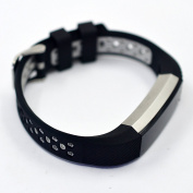 For Fitbit Alta / Alta HR Colourful Hollow Watch Band Bangle Strap Bracelet+Metal Buckle For Fitbit Alta / Alta HR Sports Silicone Accessory Band Strap Wristband Bracelet