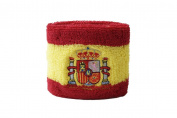 Digni® Spain with coat of arms Wristband / sweatband + free Digni® sticker