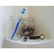 Easy Corner Shelf by CornerMate WHITE INNER CORNER