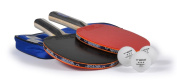 VICTOR B-13 table tennis set – premium set with 2x bats B-13, 3x three star balls and high class carrying bag