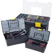 Stalwart Parts & Crafts 3-in-1 Tool Box Storage Set