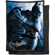 "Warner Bros. Batman ""Enter Arkham City"" 120cm x 150cm Mink Sherpa Throw"