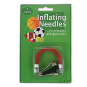 5pc Inflating Needles -Ball Pump Football Rugby Volleyball Netball Valve Adaptor