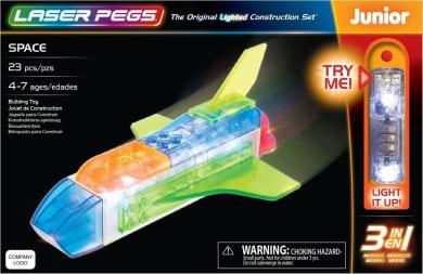 Laser Pegs Space 3-In-1 Building Set Building Kit