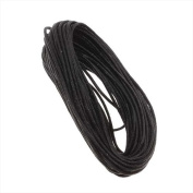 UnCommon Artistry Waxed Cotton Necklace Cord 2mm Black 10 Yards