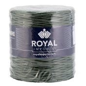 Green Floral Bind Wire Wrap, Paper Covered Waterproof Rustic Vine for Flower Bouquets 26 Gauge (210m) by Royal Imports