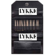 Lykke 8.9cm Driftwood Interchangeable Gift Set in Black Faux Leather Pouch