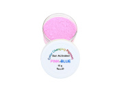 Sun Activated Photochromic Powder Pigment PINK changing to VIOLET-BLUE when exposed to UV Light Perfect for Colour Changing Slime Goo Silly Putty Nail Polish