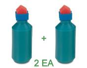 2 Each Sparco Envelope Moistener, Bottle Type, Sponge Tipped