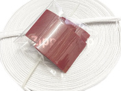 Zipperstop - Covered Poly Boning 100 percent Cotton Covered Polypropylene PLUS 3PCS COLONIAL TAILOR'S CHALK