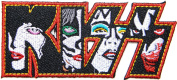 KISS Logo Skeleton Punk Rock Heavy Metal Music Band Jacket T shirt Patch Sew Iron on Embroidered Symbol Badge Cloth Sign Costume By Prinya Shop