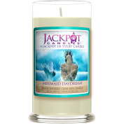 Mermaid Day Dream Candle with Ring Inside (Surprise Jewellery Valued at $15 to $5,000) Surprise Ring Size