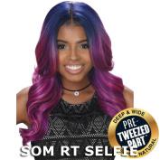 Sis Royal Pre-Tweezed Part Swiss Lace Front Wig - NOVA
