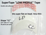 SuperTape Super Tape LOW PROFILE Shape CC = 1 pack of 36 strips