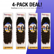 MULTI-PACK DEALS! FreeTress Synthetic Hair Crochet Braids Jazz Water 30cm