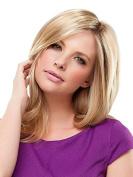 Top Notch Mid Length Clip In Hair Topper Crown Jon Renau Womens Double Monofilament Top Addition Easihair Colour 12/30BT