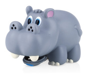 Nuby Hippo Water Spout Cover in Grey