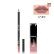 Hometom Long Lasting Lipstick Waterproof Matte Liquid Gloss Lip Liner Cosmetics Set New