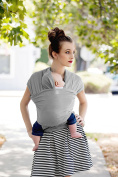 Moby Wrap Baby Carrier - Limited Edition Coastal Collection - Harbour Mist