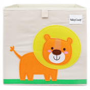 Foldable Storage Box Toy Bin 33cm , Lion