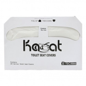 Toilet Seat Cover - Pack of 250 Disposable Toilet Seat Covers Paper - Made from Recycled Paper 250 Covers