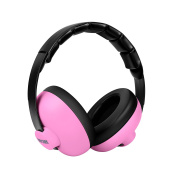 BBcare Infant Hearing Protection Earmuff for 3 Months to 2 Years-Pink