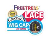 Freetress 13cm Lace Crochet Wig Cap w/ Combs