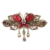 LALANG Women Retro Butterfly Style Hair Barrette Hair Clips Beauty Tools