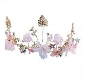 Korean handmade bride headdress flowers hair ornaments accessories