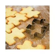 1pcs Stainless Steel Jigsaw puzzle Shape Cake Mould Cookie Cutter Fondant Cake Decorating Tools Sugarcraft Cutter Cake Baking Tool