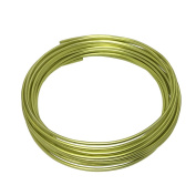 LeGold Aluminium Craft Wire Apple Green Colour 12 Gauge 5.5m