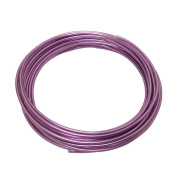 LeGold Aluminium Craft Wire Lilac Colour 12 Gauge 5.5m